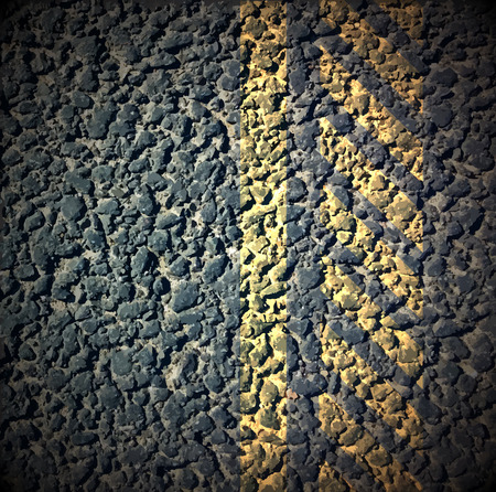 bicycle lane: Asphalt as abstract background, vector illustration Illustration
