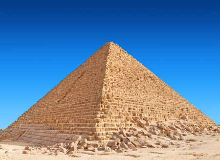 Pyramid of Khufu, Giza. Stockfoto
