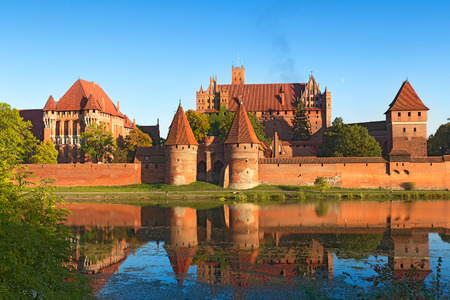 teutonic: Malbork castle, Teutonic Knights fortress also known as Marienburg