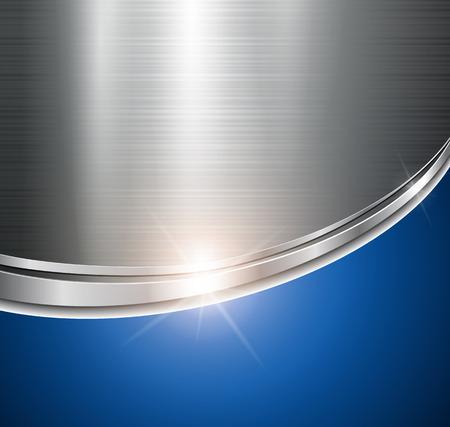 fondos azules: Metálico de fondo brillante y brillante.