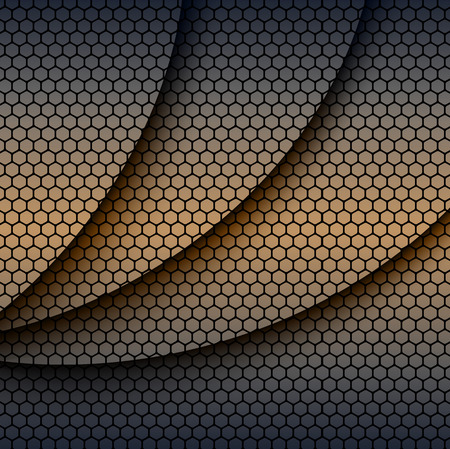 perforation: Background with hexagons pattern texture, abstract vector background.