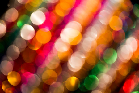 colorful lights: Bokeh colorful lights, abstract blurry background. Stock Photo