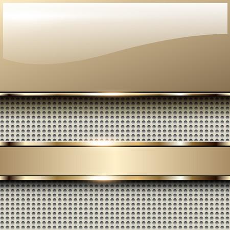Zakelijke achtergrond beige, elegant vector illustratie. Stock Illustratie