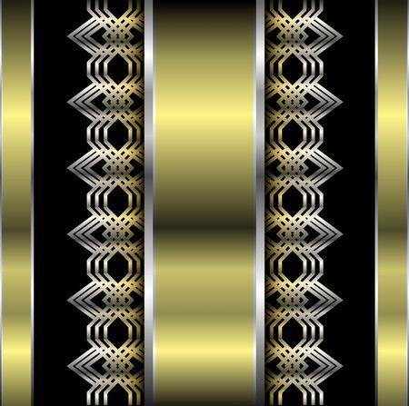 metallic: Abstracte metalen achtergrond, vector illustratie.