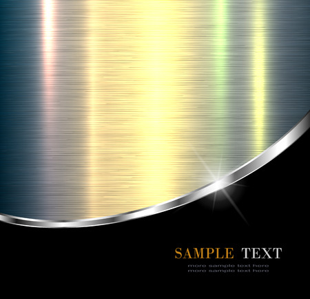 background cover: Elegant metallic background design.