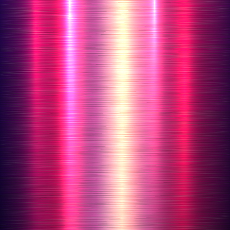 metallic background: Metal background, polished metallic texture, vector illustration.