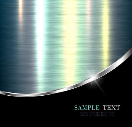 metallic background: Elegant metallic background, design.
