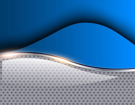 fondos azules: Resumen de fondo azul, ilustración vectorial 3D.