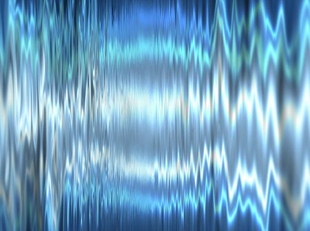 blue metallic background: Liquid metal texture, blue metallic background. Stock Photo