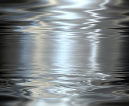 metallic background: Liquid metal texture, metallic background. Stock Photo