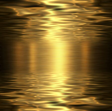 lustrous: Liquid metal texture, metallic background. Stock Photo