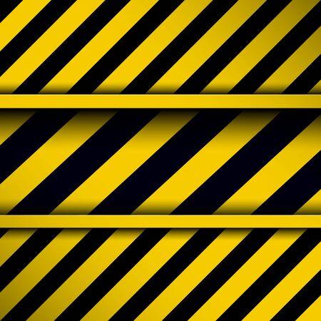 hazard stripes: Background with warning stripes,  vector illustration.