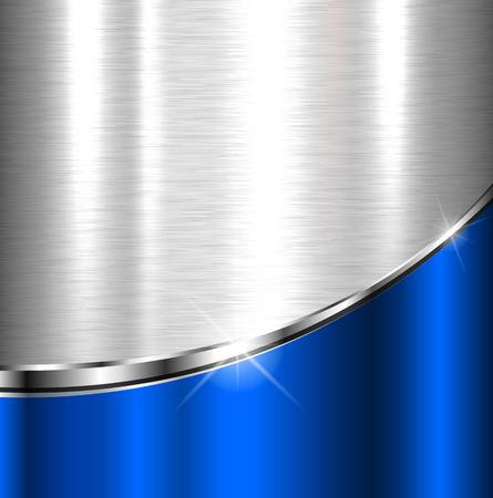 Élégant fond métallique, conception de vecteur. Vecteurs