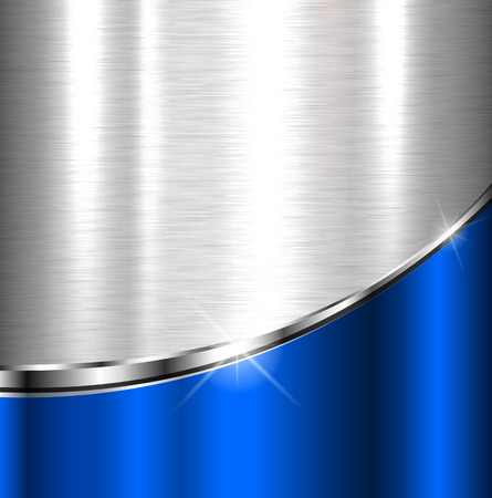 Elegante Metallic-Hintergrund, Vektor-Design. Illustration