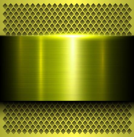 polished: Metal background, polished metallic texture, vector illustration Illustration