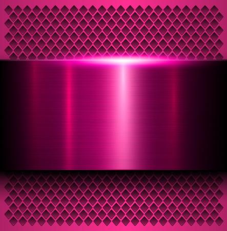 metallic texture: Metal background, polished metallic texture, vector illustration Illustration