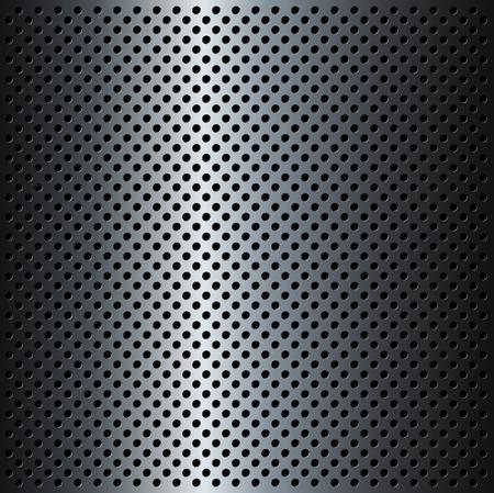 grid background: Metal Grid background, vector illustration.