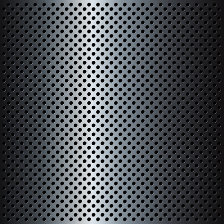 materials: Metal Grid background, vector illustration.