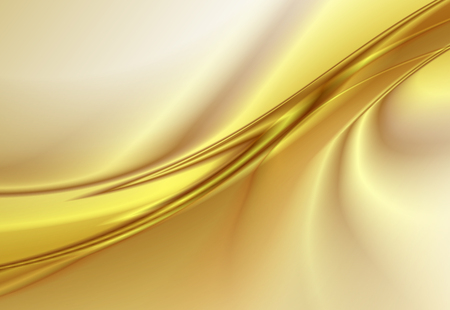 Abstract background, gold wavy lines, vector illustration