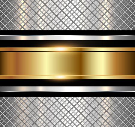 metallic background: Background metallic, shiny metallic texture. Technology vector illustration. Illustration