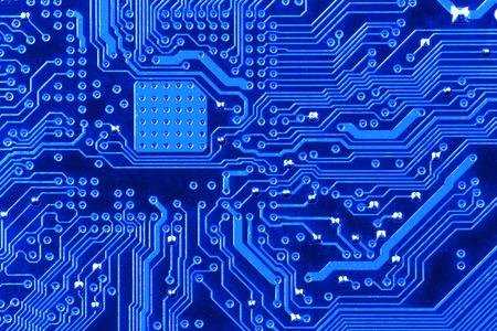 esquema: Tarjetas de circuitos electr?os de cerca.