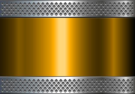 shiny: Metallic background, shiny metalgold  texture, vector illustration.