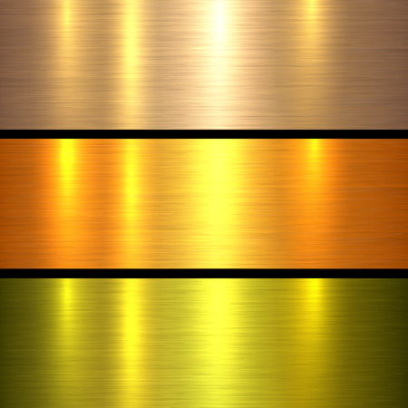shiny background: Metal gold texture background, golden brushed metallic texture plate.