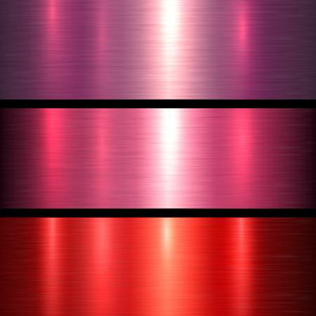 metallic texture: Metal red texture background, brushed metallic texture plate.