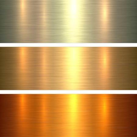 stainless steel: Metal gold texture background, golden brushed metallic texture plate.