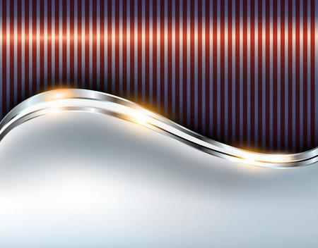 fondo elegante: Fondo metálico elegante, diseño brillante del vector. Vectores