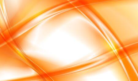 orange background abstract: Abstract orange background, wavy vector illustration
