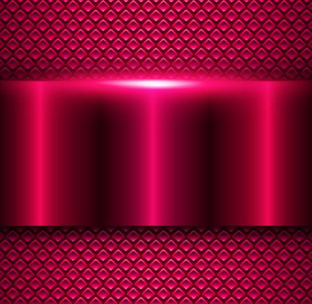 polished: Background purple metallic, vector metal texture design.
