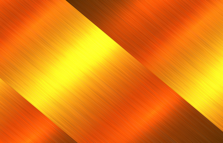 Metal gold texture background, golden brushed metallic texture plate. Stock Vector - 84661586