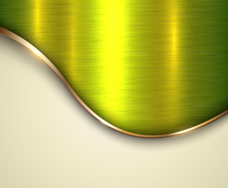 steel plate: Background metallic with brushed metal  texture and copy space Illustration