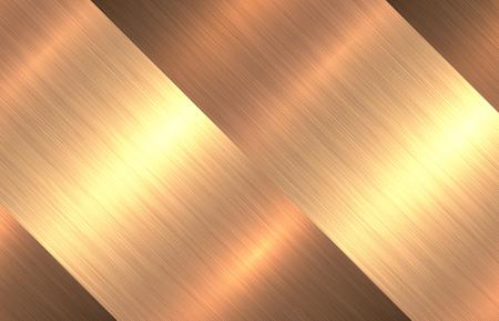 titanium: Metal gold texture background, golden brushed metallic texture plate.