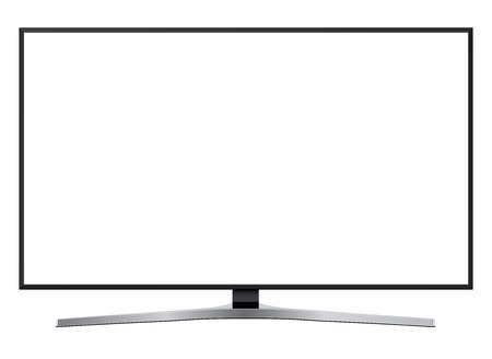Led テレビ、現代テレビは白い画面を分離しました。