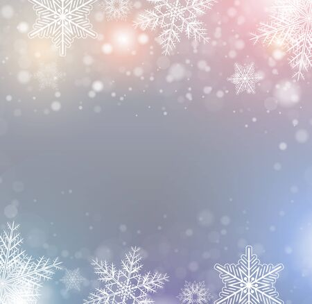 cold: Christmas winter pattern.