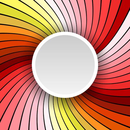 stripped: Background 3d with radial stripped pattern, vector illustration. Illustration