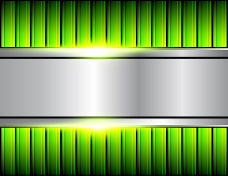 Abstract  background green pattern, vector illustration.