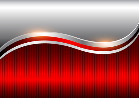 Background silver red, elegant business vector abstract background.