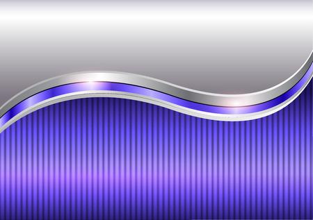 Background purple metallic with copy space, vector illustration. Vettoriali