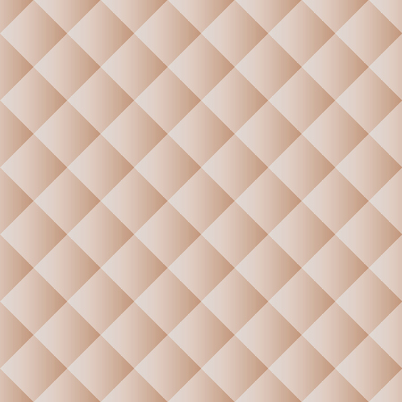 Seamless pattern texture, abstract beige squares background, vector illustration.