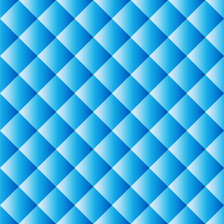 Seamless pattern texture, abstract blue squares background, vector illustration.