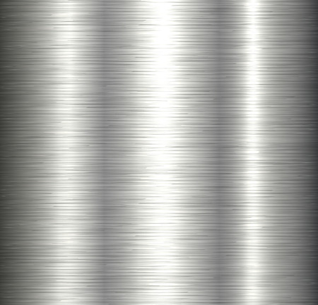 Steel metal background brushed metallic texture with reflections. Reklamní fotografie - 100323098