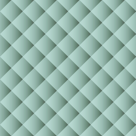 Seamless pattern texture, abstract light green squares background, vector illustration.