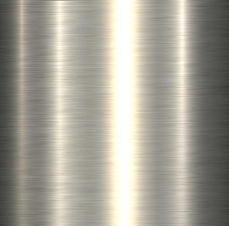 Metal texture, silver brushed metallic background, vector illustration.