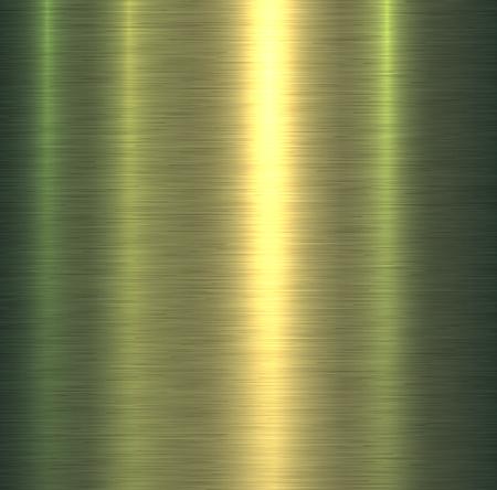 Metal texture green brushed metallic background, vector illustration. Stock Vector - 106598720