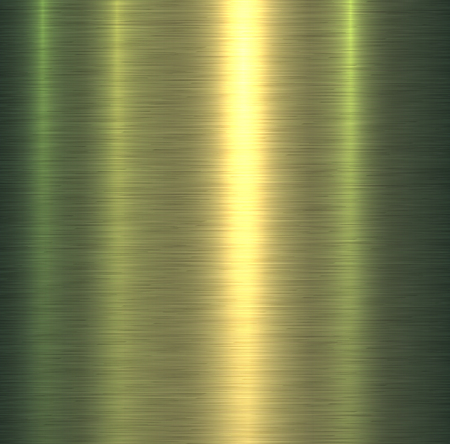 Metal texture green brushed metallic background, vector illustration.