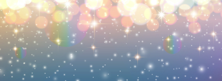 Christmas background, golden blurred lights, glittering bokeh background, vector illustration. 일러스트