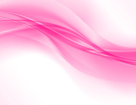 Abstrakter rosa Hintergrund, elegante gewellte Vektorillustration